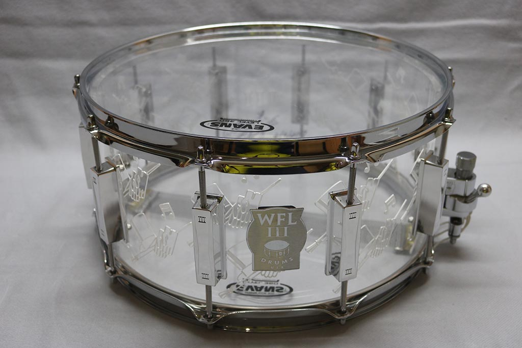 WFL III Acryl-Snare 14